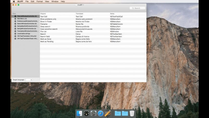 iXLIFF for Mac - review, screenshots