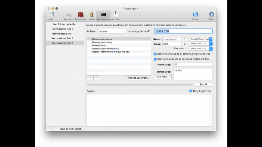 Passenger for Mac - review, screenshots