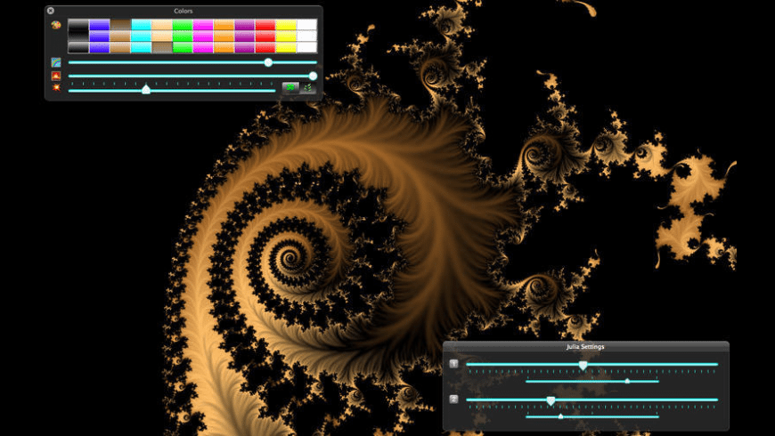 Magic Fractals for Mac - review, screenshots