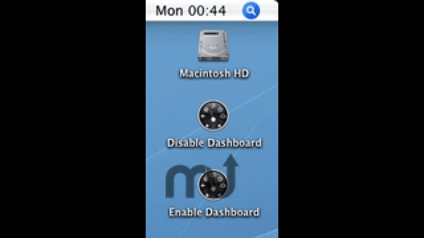 DisableDashboard Utility for Mac - review, screenshots