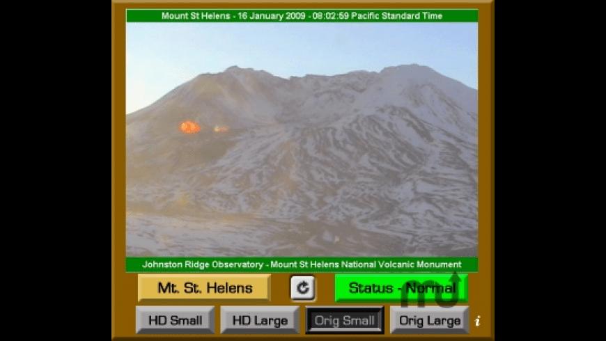 Mt. St. Helens VolcanoCam Widget for Mac - review, screenshots