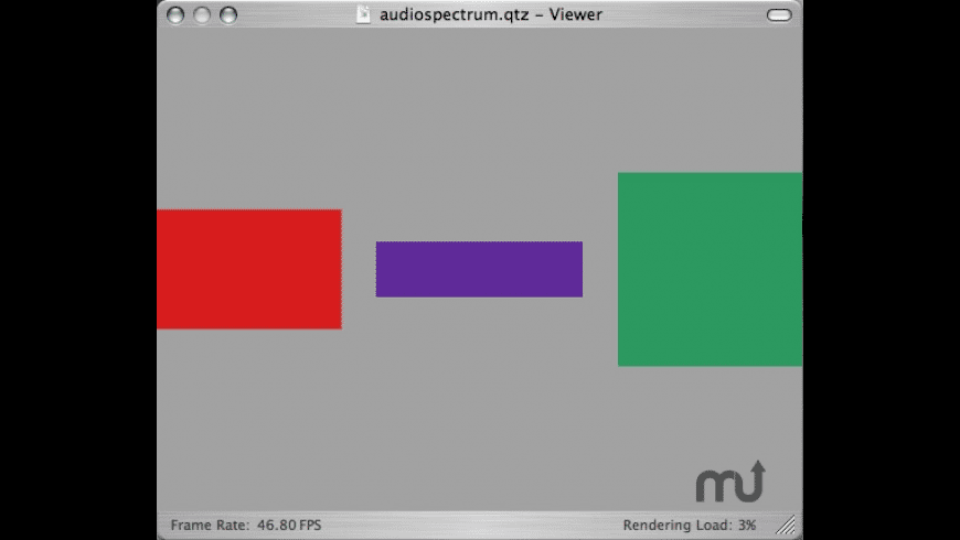 audiospectrum for Mac - review, screenshots