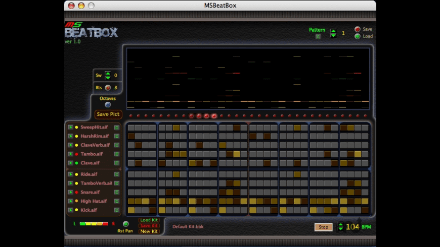 MSBeatBox for Mac - review, screenshots