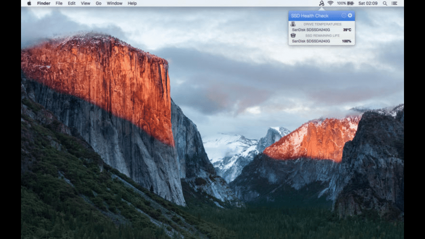 SSD Health Check for Mac - review, screenshots
