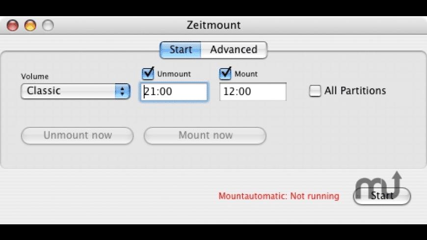 Zeitmount for Mac - review, screenshots