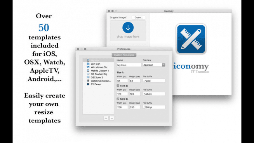 Iconomy for Mac - review, screenshots