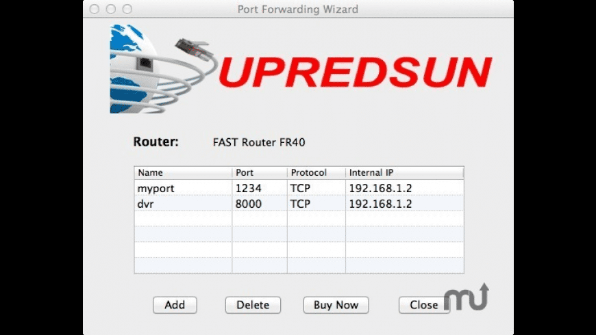Port Forwarding Wizard for Mac - review, screenshots