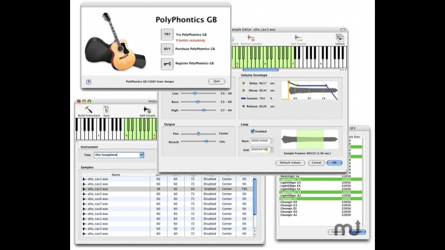 PolyPhontics GB for Mac - review, screenshots