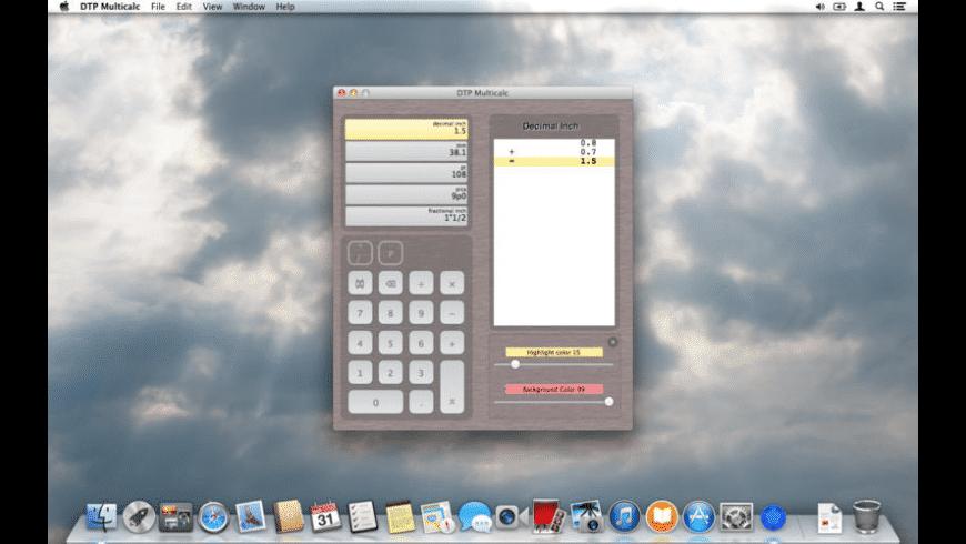 DTP Multicalc for Mac - review, screenshots