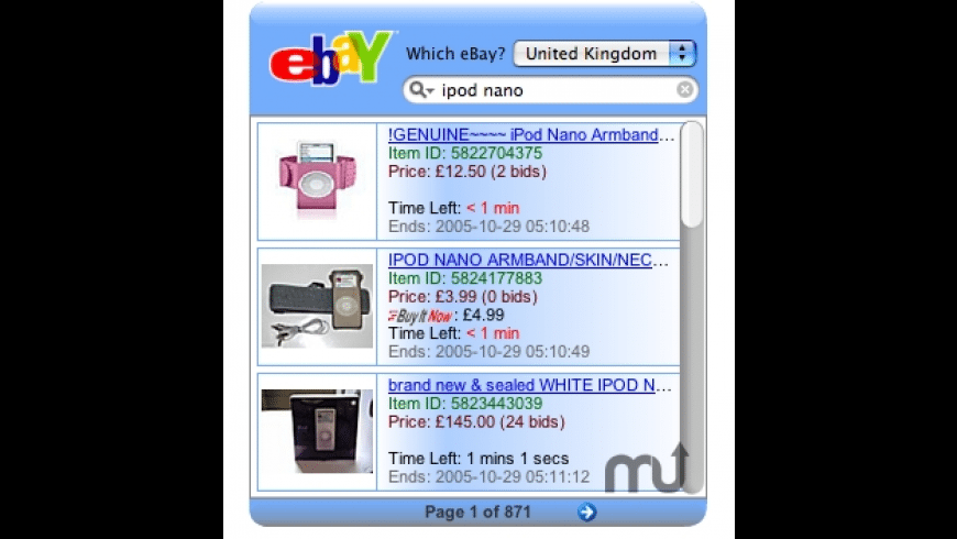 Easy eBay for Mac - review, screenshots