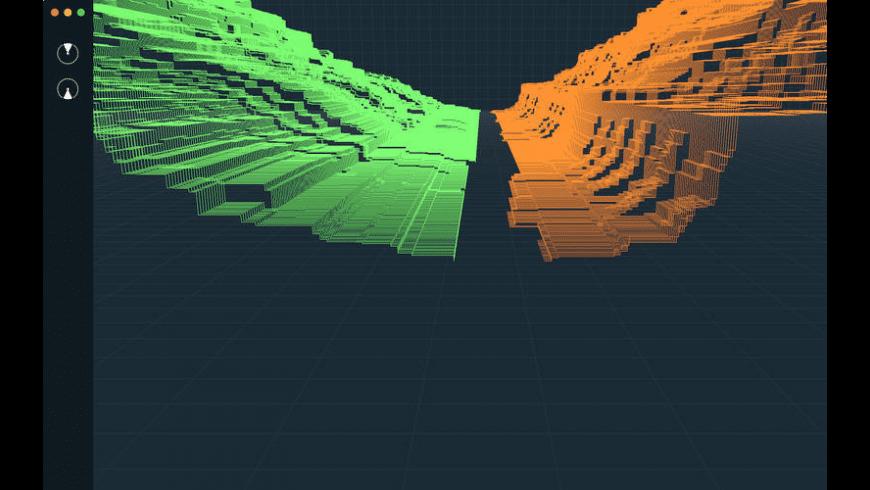 Ethereum 3D Orderbook for Mac - review, screenshots