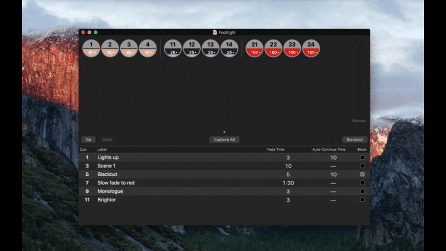Footlight for Mac - review, screenshots