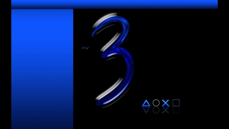 Playstation 3 Animated Desktop for Mac - review, screenshots