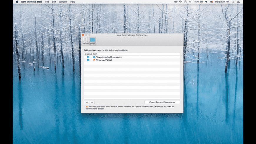 New Terminal Here for Mac - review, screenshots