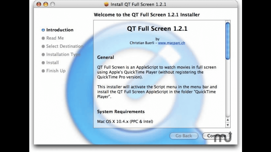 QT Full Screen for Mac - review, screenshots