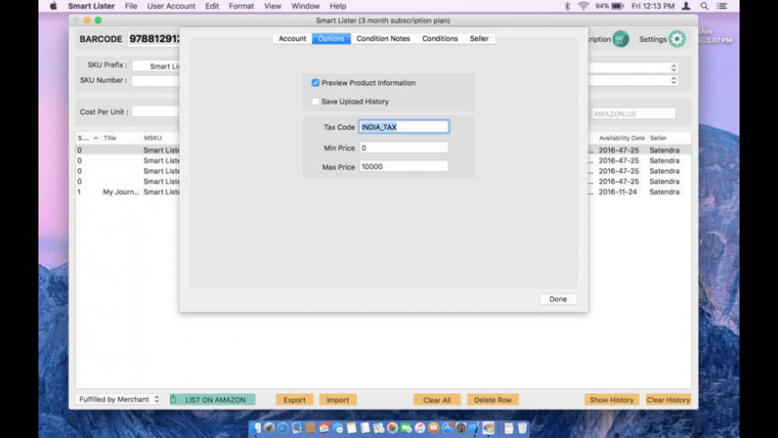 Smart Lister for Mac - review, screenshots