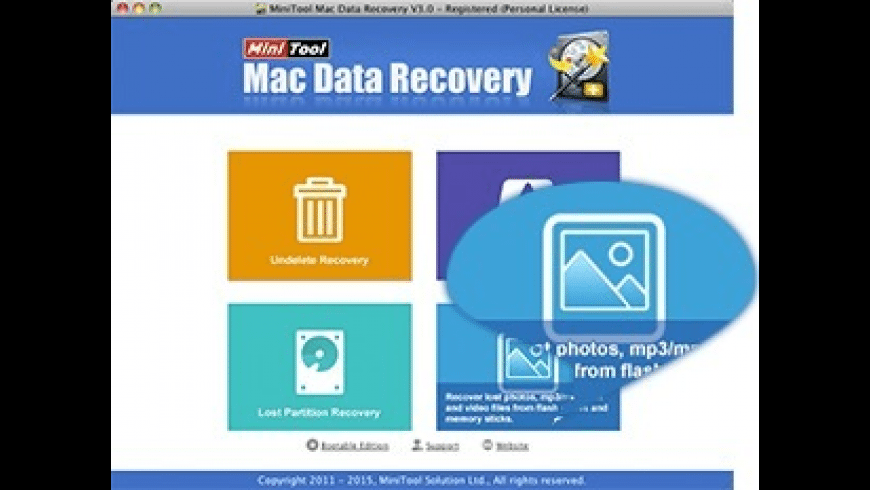 MiniTool Mac Data Recovery for Mac - review, screenshots