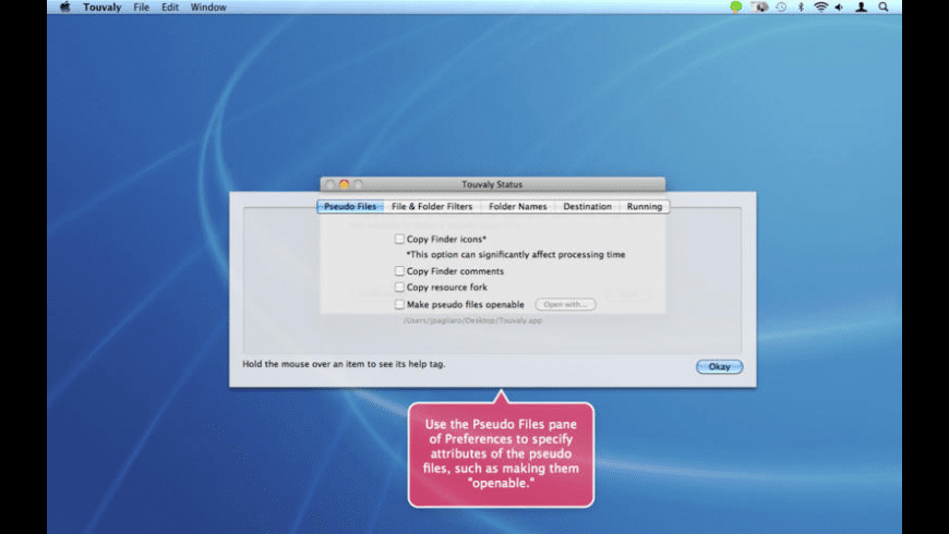 Touvaly for Mac - review, screenshots