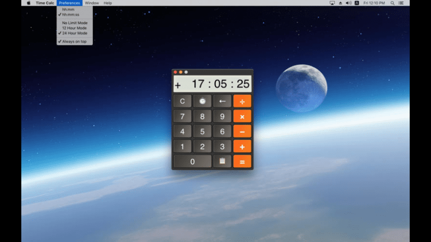 Time Calc for Mac - review, screenshots