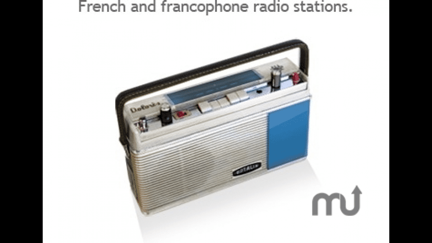 m@radio for Mac - review, screenshots