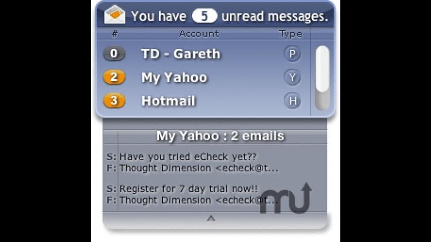 eCheck for Mac - review, screenshots