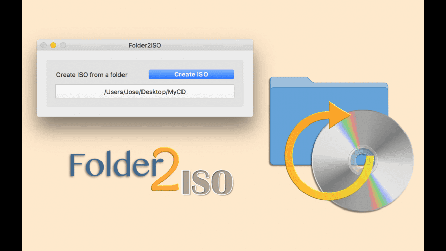 Folder2ISO for Mac - review, screenshots