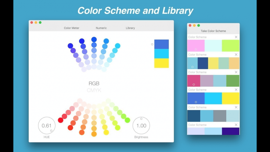Color Picker C1 for Mac - review, screenshots