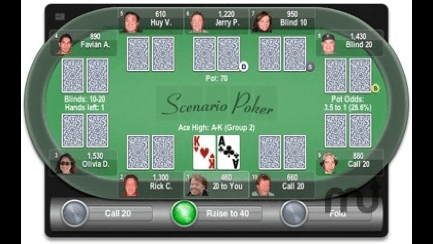 Scenario Poker for Mac - review, screenshots