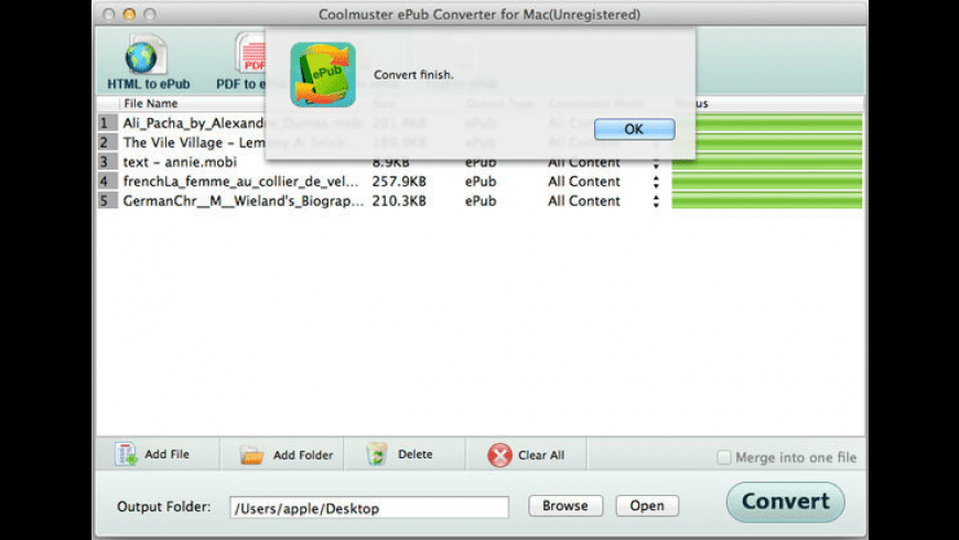 Coolmuster ePub Converter for Mac - review, screenshots