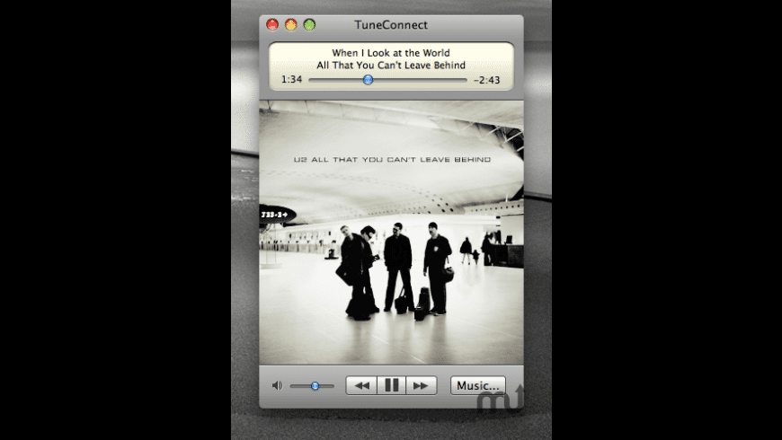 TuneConnect for Mac - review, screenshots