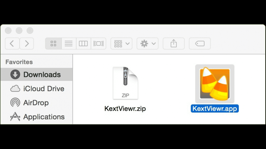 KextViewr for Mac - review, screenshots