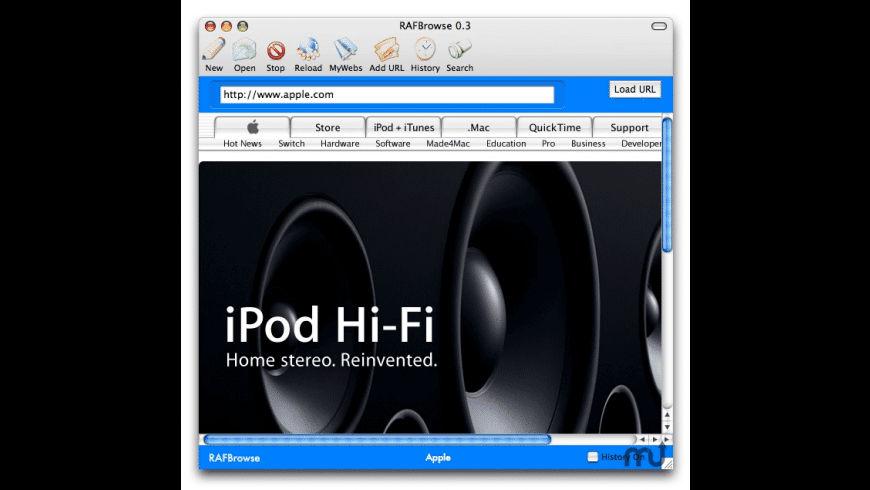 RAFBrowse for Mac - review, screenshots