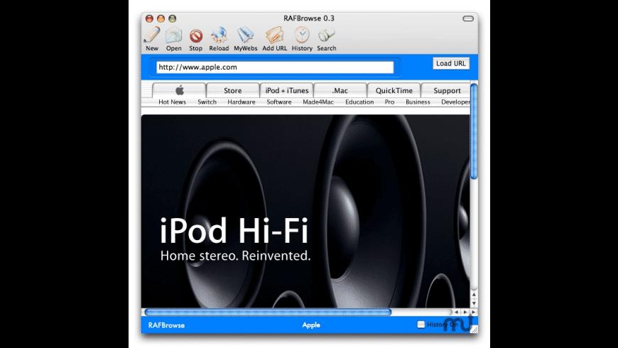 RAFBrowse for Mac - review, screenshots