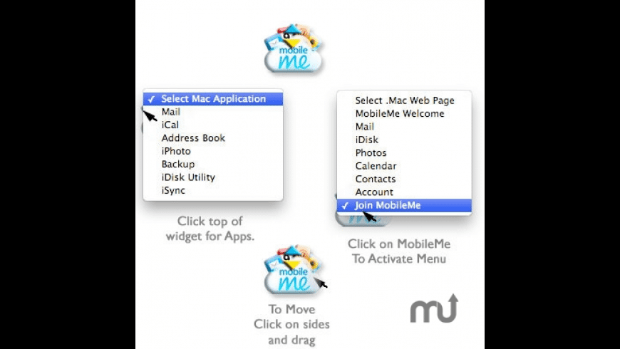 MobileMe Button for Mac - review, screenshots