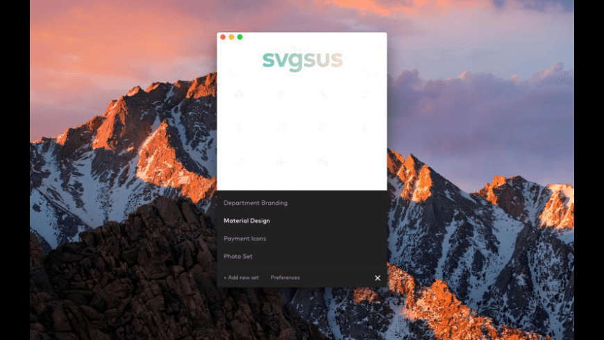 Svgsus for Mac - review, screenshots