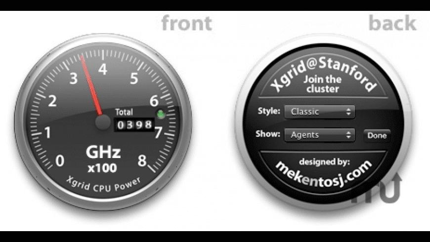 Xgrid@Stanford widget for Mac - review, screenshots
