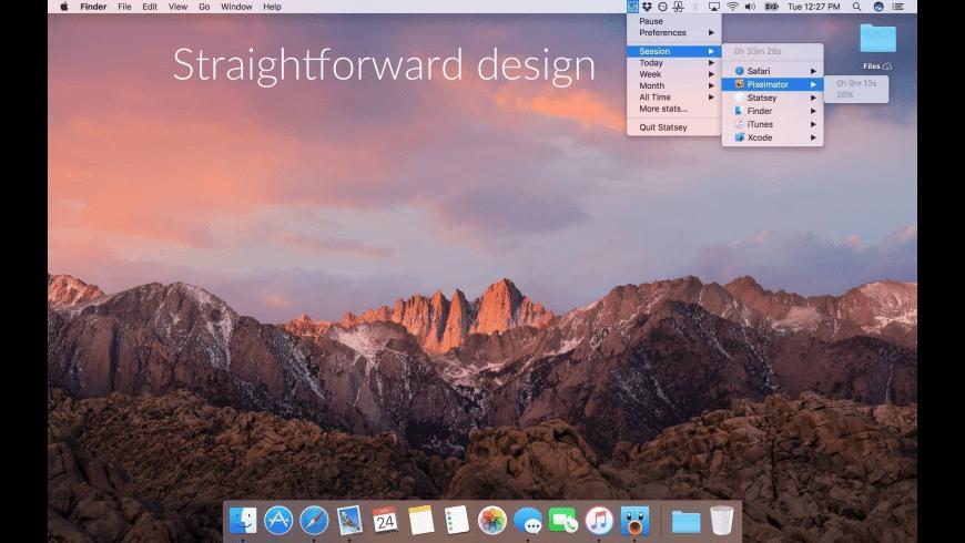 Statsey for Mac - review, screenshots
