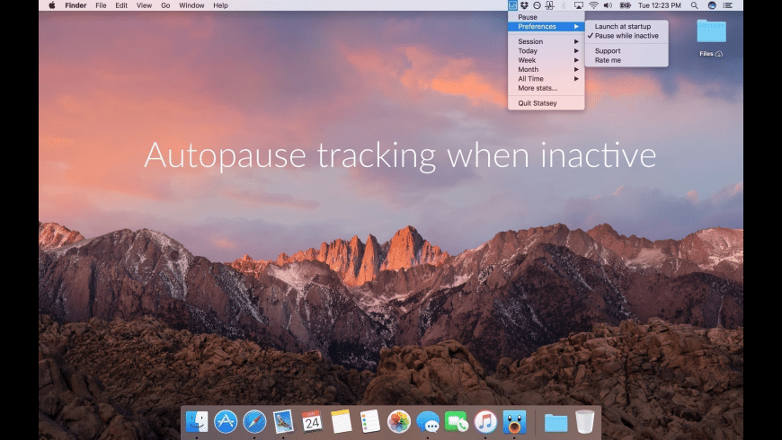 Statsey for Mac - review, screenshots