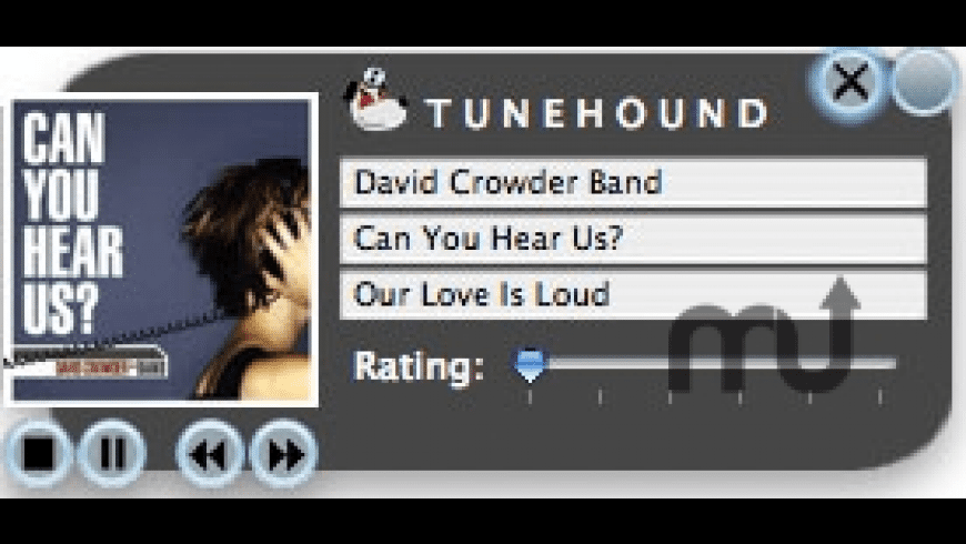 TuneHound for Mac - review, screenshots