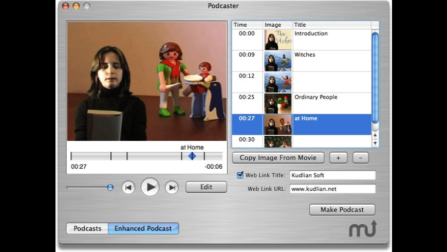 Podcaster for Mac - review, screenshots