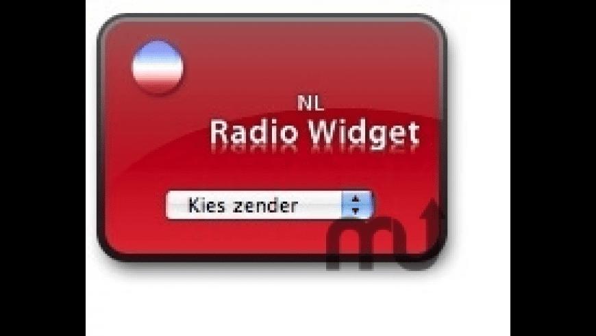 NL Radio Widget for Mac - review, screenshots