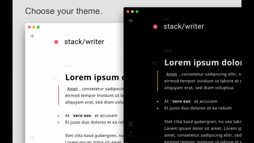 Stack for Mac - review, screenshots