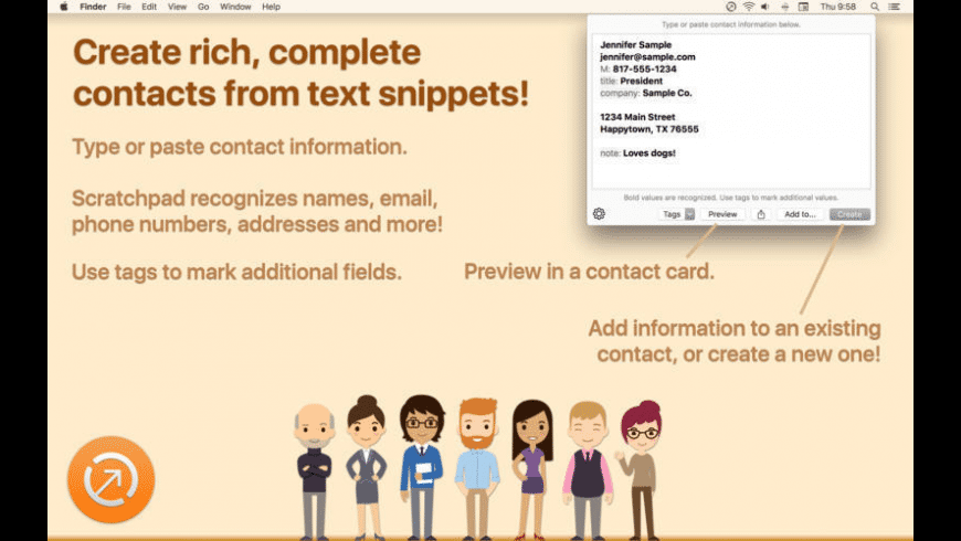 Interact Scratchpad for Mac - review, screenshots