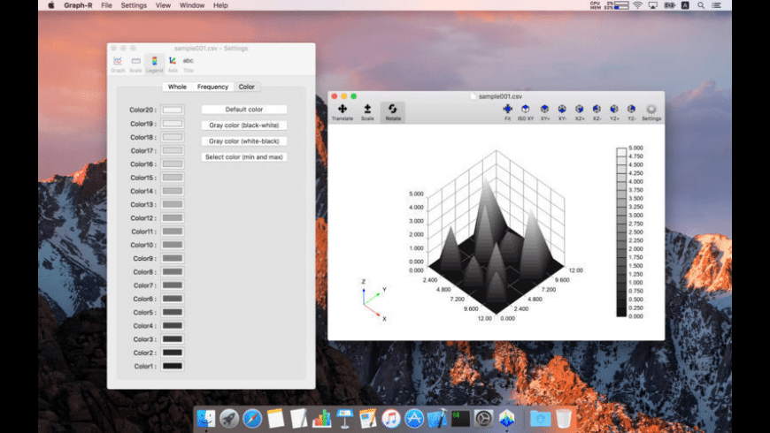 Graph-R for Mac - review, screenshots