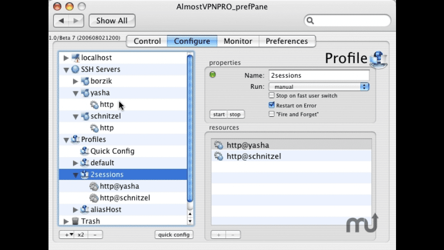 AlmostVPNPRO for Mac - review, screenshots