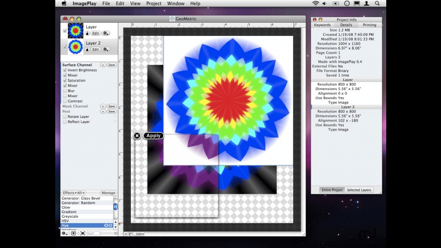 ImagePlay for Mac - review, screenshots