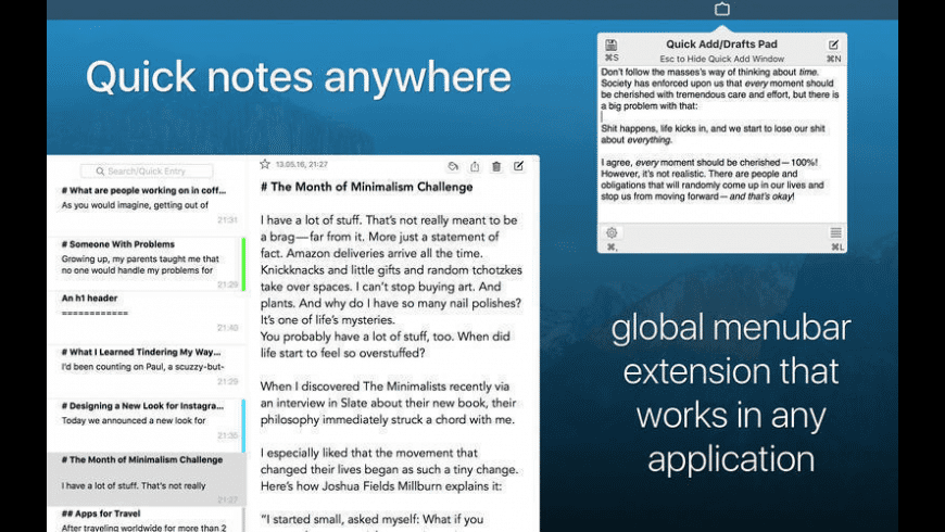Note-Ify Notes for Mac - review, screenshots