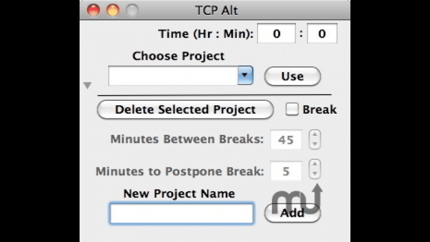 Time Check Pro Alt for Mac - review, screenshots
