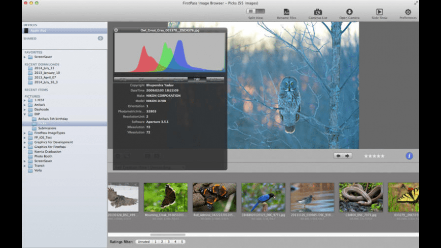 FirstPass Image for Mac - review, screenshots