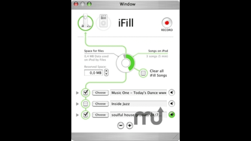 iFill for Mac - review, screenshots